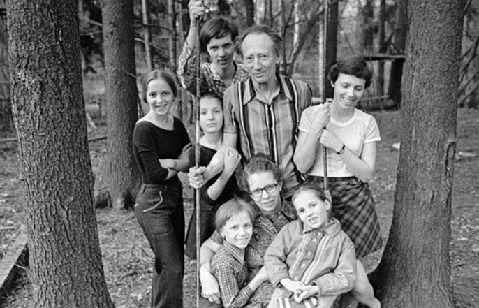 семья никитиных сегодня фото