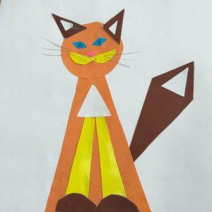 Маша К., 1 кл. Кошка (все имеет свое строение)
