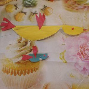 Софья С., 1 кл. Птицы (конструирование из бумаги)